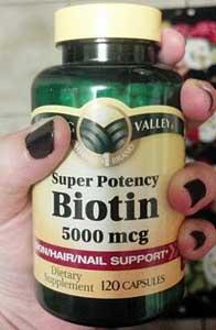 биотин для ногтей
