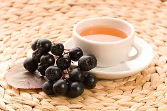 Чай из черноплодной рябины