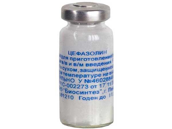 Цефазолин инъекции: инструкция по применению