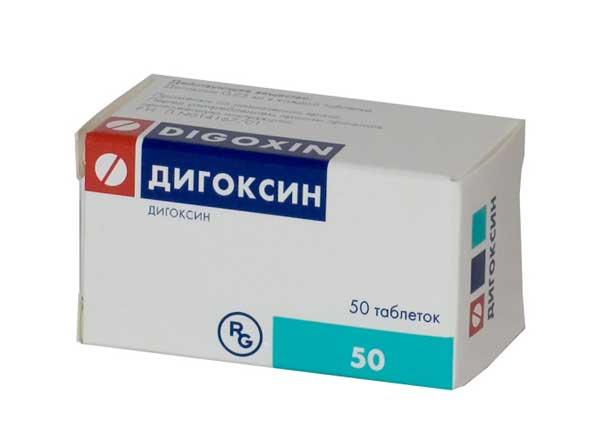 Дигоксин: инструкция по применению