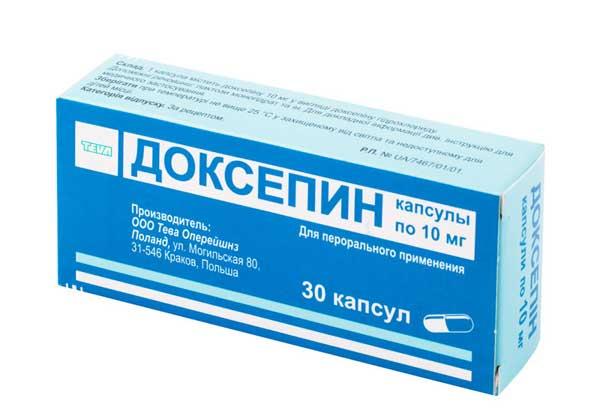 Доксепин: инструкция по применению