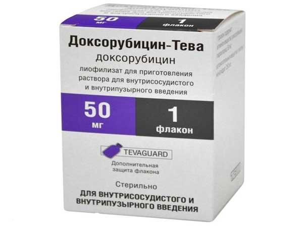 Доксорубицин инструкция по применению для животных