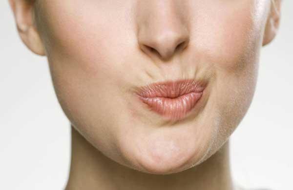 Морщины вокруг рта. Пока мимические