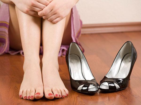 Высокие каблуки и здоровье