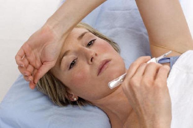 симптомы гриппа после укуса клеща