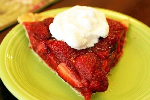 клубничный пирог для больного диабетом