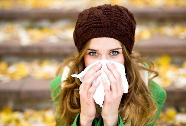 простуда осенью
