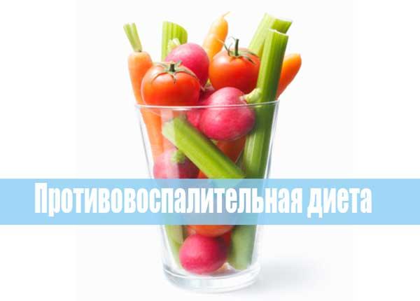 противоспалительная диета