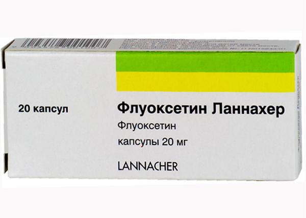 Флуоксетин ланнахер, капсулы 20 мг, 20 шт. Купить, цена и отзывы.