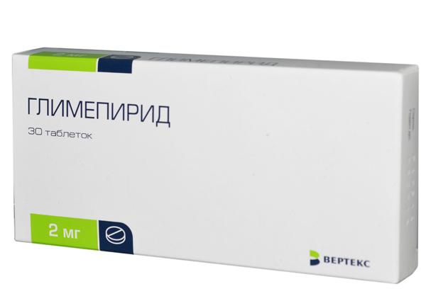 Глимепирид: инструкция по применению