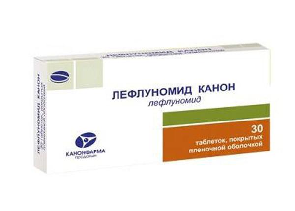 Лефлуномид: инструкция по применению