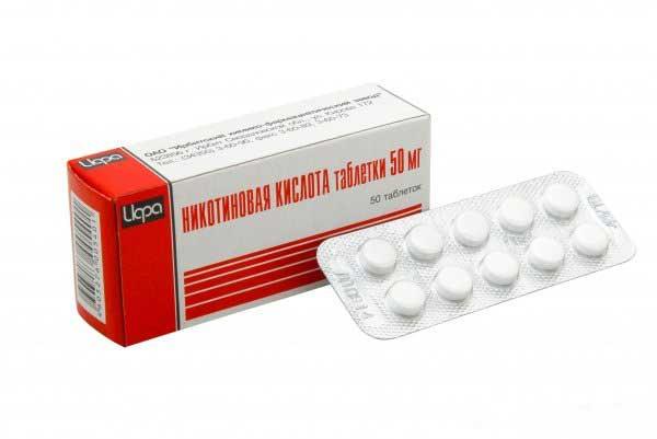 Никотиновая кислота: инструкция по применению