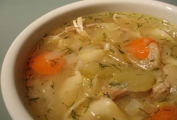 Суп с фрикадельками для кормящей мамы рецепт