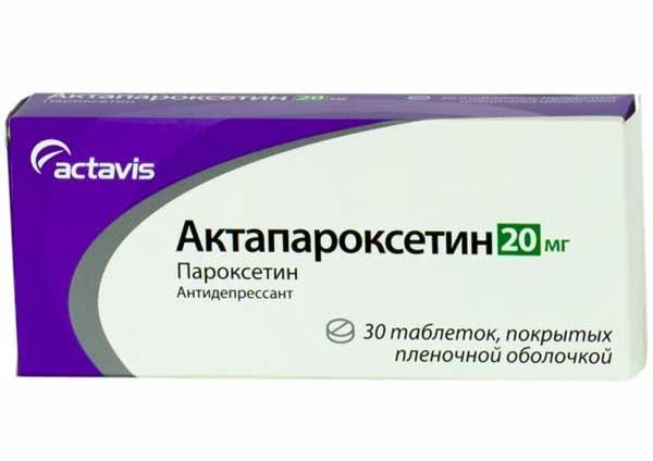 Пароксетин: инструкция по применению