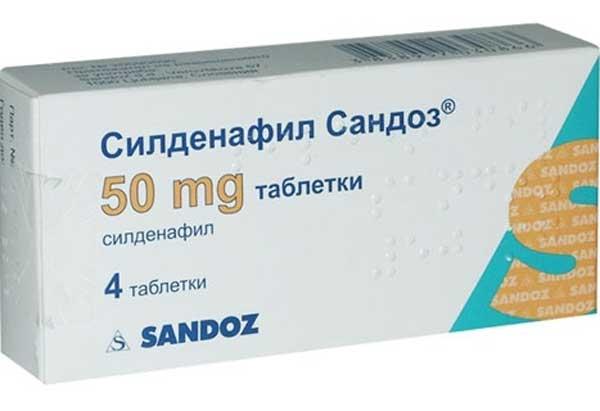 лекарства силденафил с3
