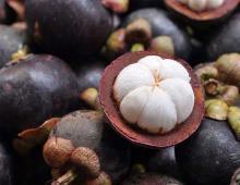 На фото: «Король фруктов» мангостан