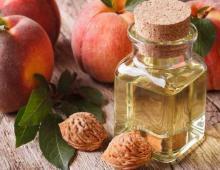 Персиковое масло для волос и лица