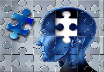 Болезнь Альцгеймера под синим цветом