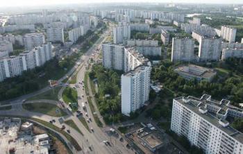 Москва. Район Строгино