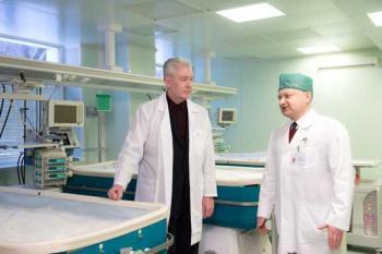 Сергей Собянин посетил ДКБ им. Сперанского