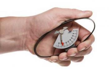 Измерение силы рукопожатия