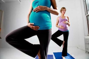 Умеренные физические упражнения беременных