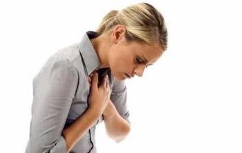 У молодой женщины сердечный приступ