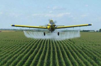 Обработка пестицидами