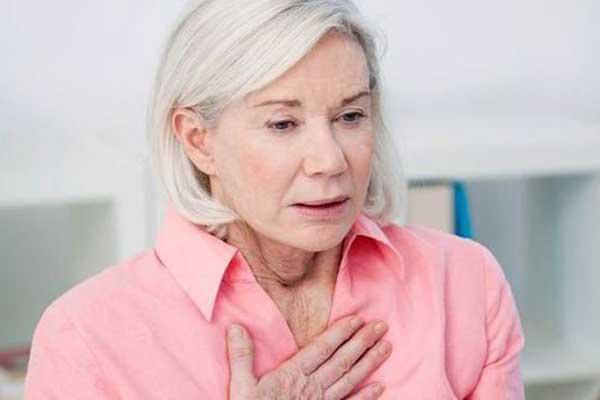 Симптом затрудненное дыхание