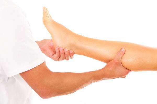 Спастичность мышц ног
