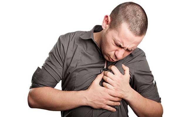 У мужчины астма
