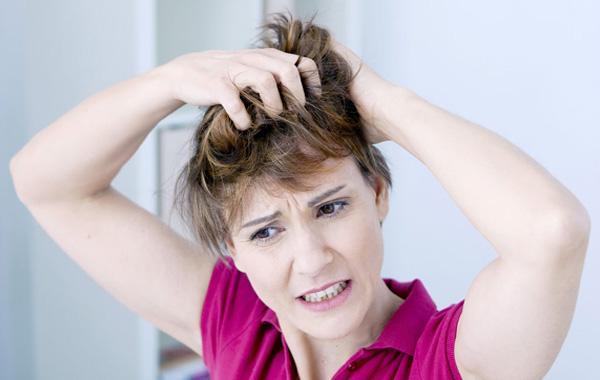 Зуд и жжение - у женщины аллергия на краску для волос