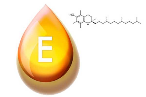 Витамин Е в масле, химическая формула, капля масла