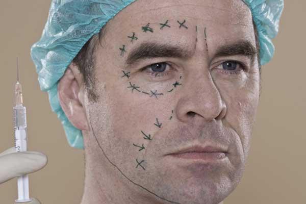 Пластическая хирургия мужчины