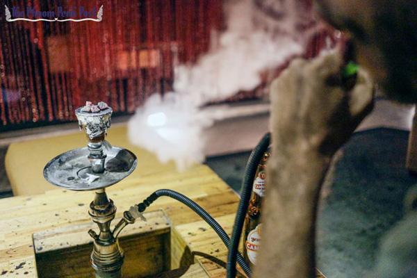 Курение кальяна не безопаснее, чем курение сигарет