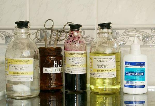 Антисептики: описание