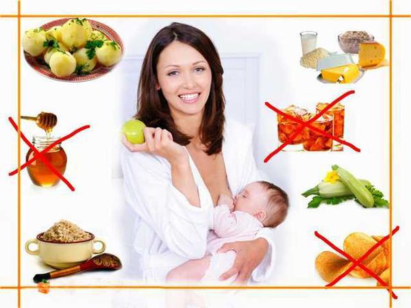 Здоровая диета для кормящих матерей