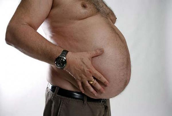 жир на животе у мужчин ниже пояса