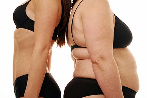 жир на животе и боках у женщин