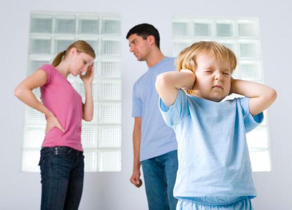 Супруги после развода и их дети
