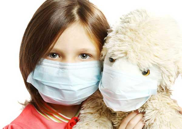 Грипп у ребенка симптомы