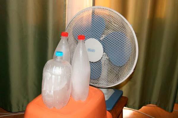 Как сделать холодный воздух