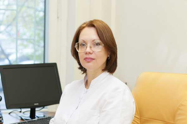 Главный врач «Лаборатории Гемотест» Ольга Дехтярева