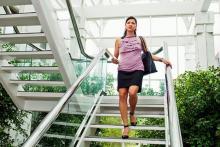 Подниматься по лестнице полезно для ума