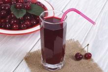 Вишневый сок снижает артериальное давление
