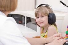 Проверка слуха у ребенка