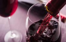 Большой бокал вина
