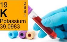 Гипокалиемия, недостаток калия
