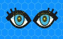 звездочки в глазах
