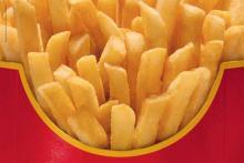 как делают картофель фри в Макдональдс